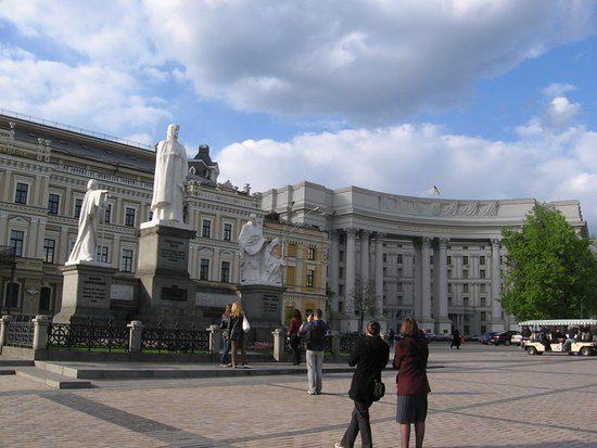 Princess Olha Monument Kiev