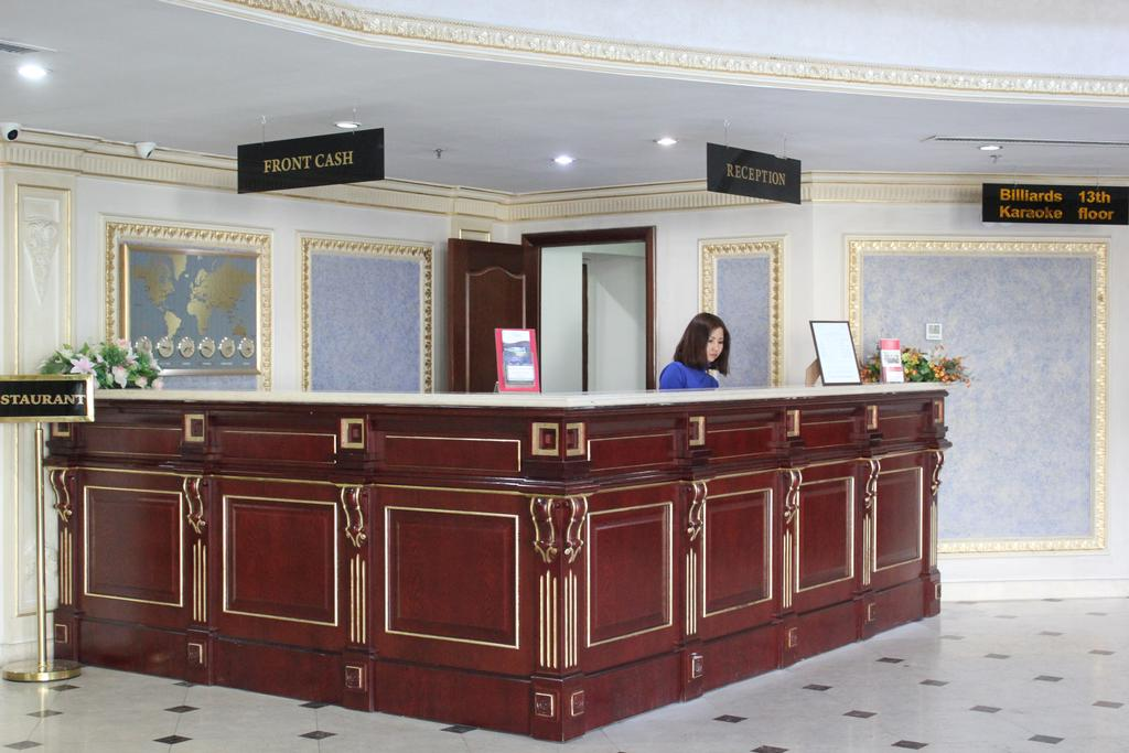International Hotel Tashkent Reception