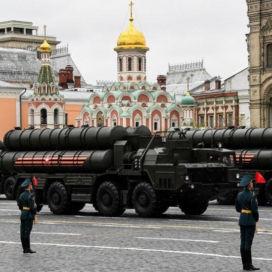 Red Square (Krasnaya ploshchad) Parade