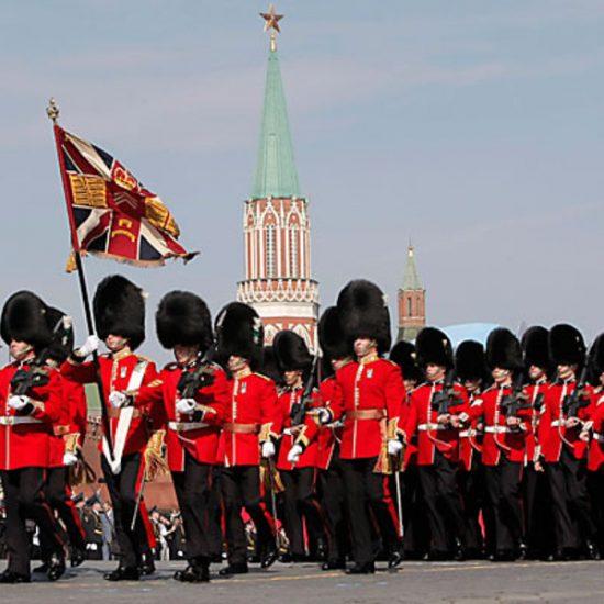 Red Square (Krasnaya ploshchad) Parade Walk