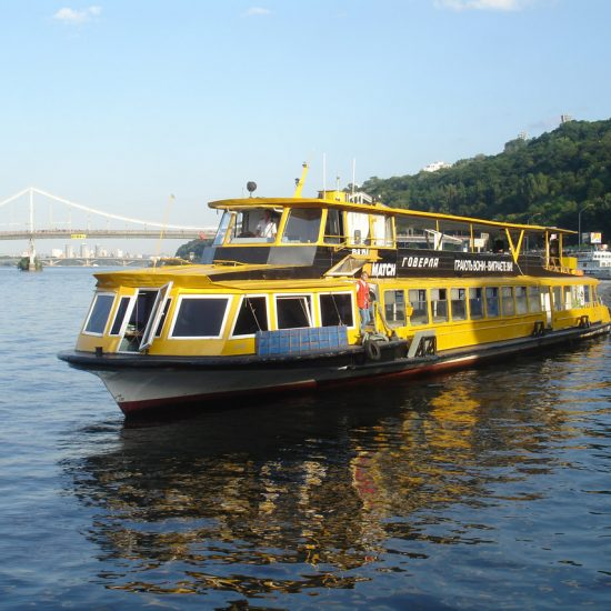 River Dnipro Sightseeing Cruise