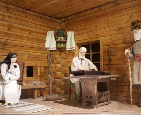 Russian Museum of Ethnography Inside