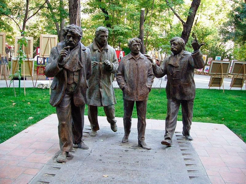 Sculptural Group Men