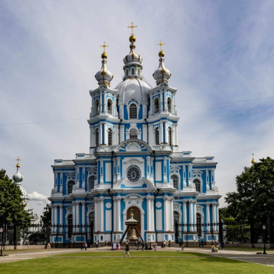Smolny Cathedral front View
