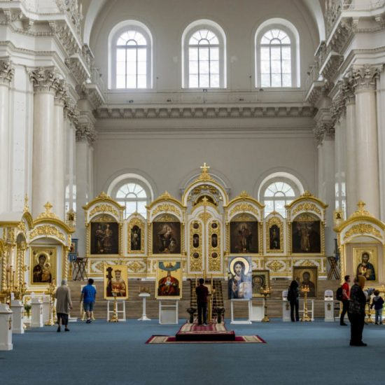 Smolny Cathedral Inside