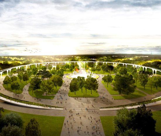 Sokolniki Park Moscow - Full View