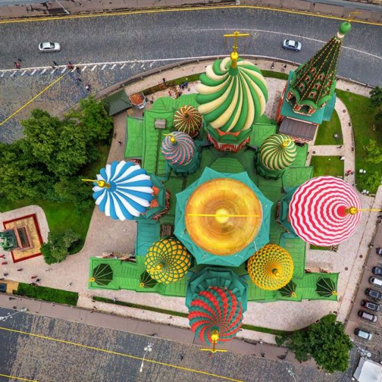 St. Basil's Cathedral Upside