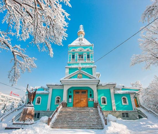 St. Nicholas Cathedral Winters