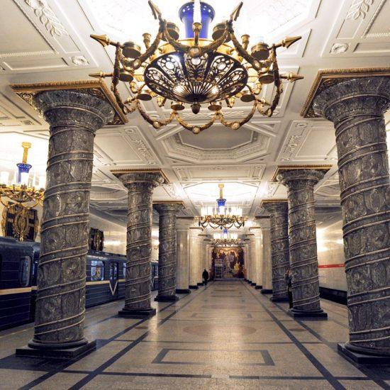 St. Petersburg Metro Interior