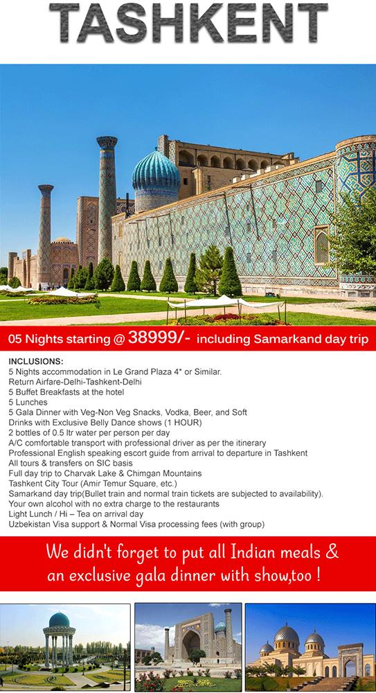 Tashkent 5 Night Special Mailer