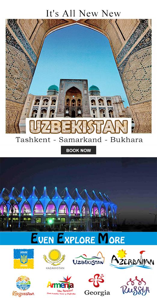 Tashkent Samarkand Bukhara Mailer