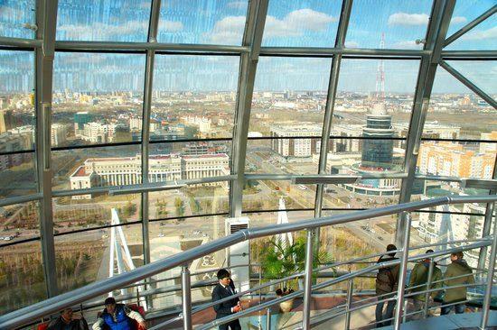 The Baiterek Tower Astana - Inside View