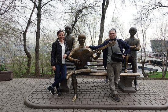 The Beatles Monument Almaty