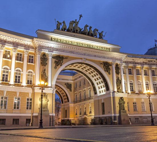 The General Staff Building - Winter Palace