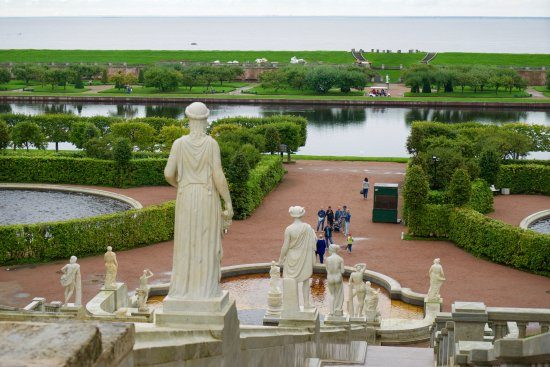 The Marly Palace Statues