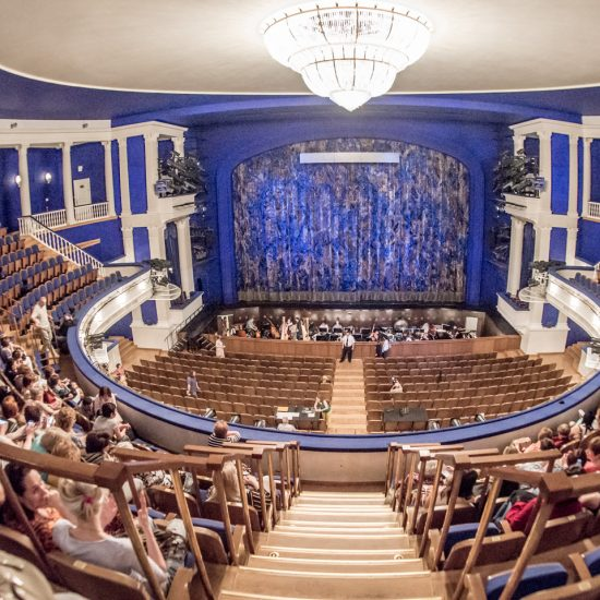 The Moscow Academic Musical Theatre of Stanislavskiy and Nemirovich-Danchenko Stage