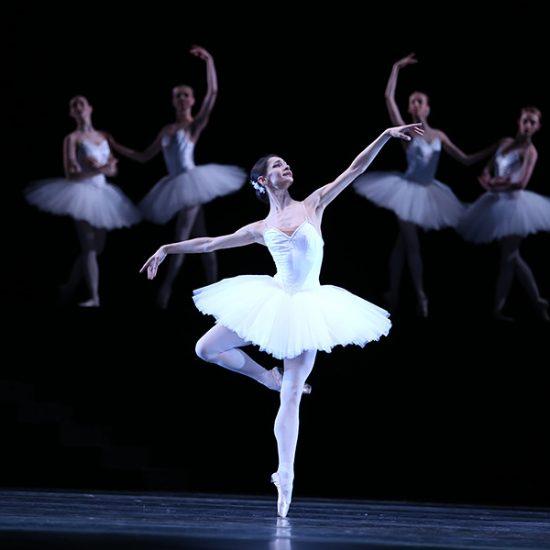 The Moscow Academic Musical Theatre of Stanislavskiy and Nemirovich-Danchenko Dancing