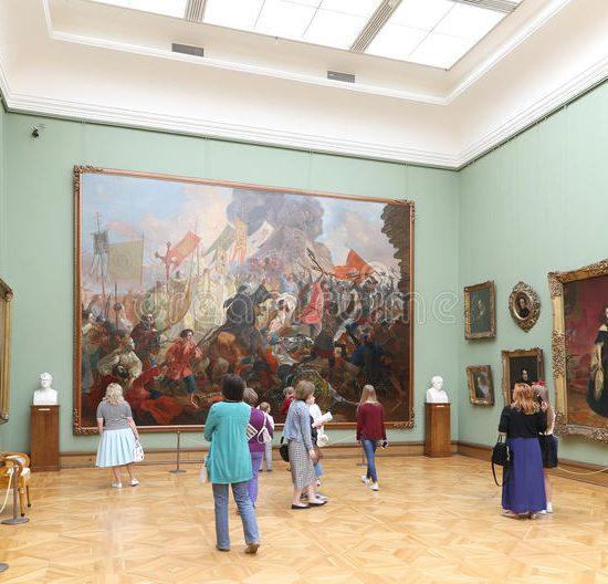 The State Tretyakov Gallery Wall Painting