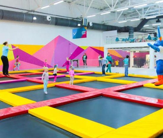 Trampoline Park NEBO Moscow