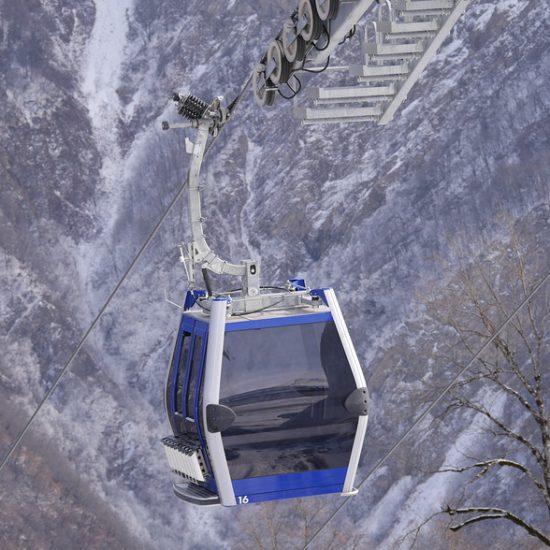 Cable Car View - Gabala