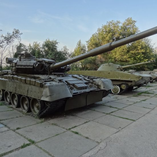 Victory Park Moscow with Tank