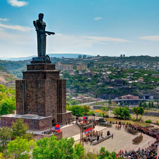Victory Park and Statue of Mother Armenia