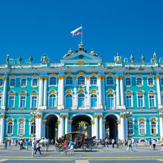 Winter Palace of Peter I front View