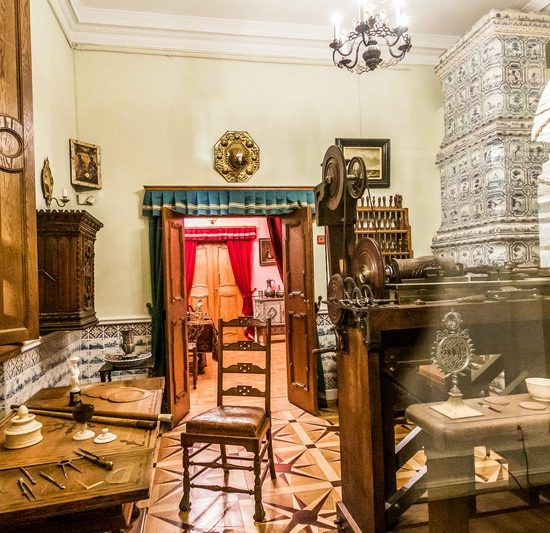 Winter Palace of Peter I Room