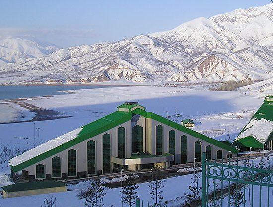 Hotel Pyramid Tashkent Winters