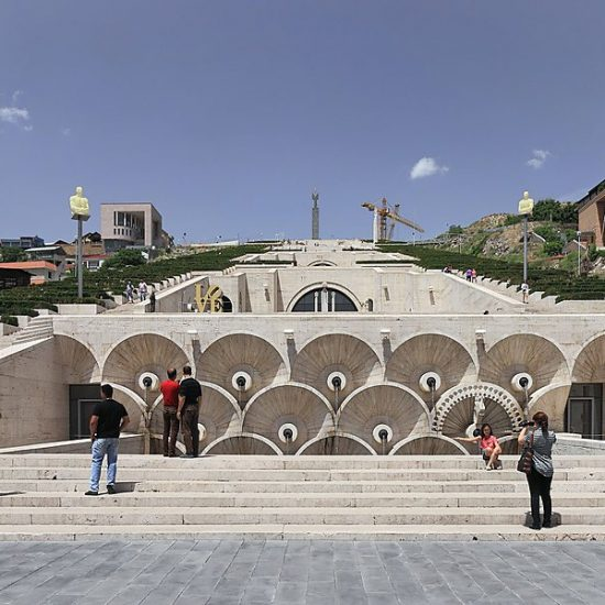 Yerevan Cascade Steps