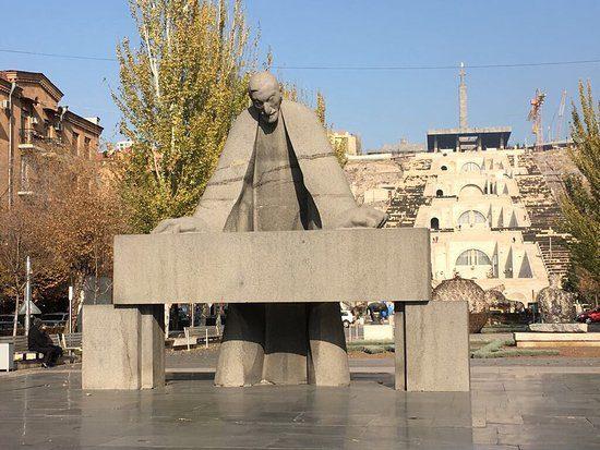 Yerevan Cascade Sculpture