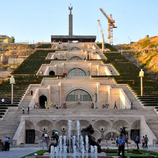 Yerevan Cascade full View