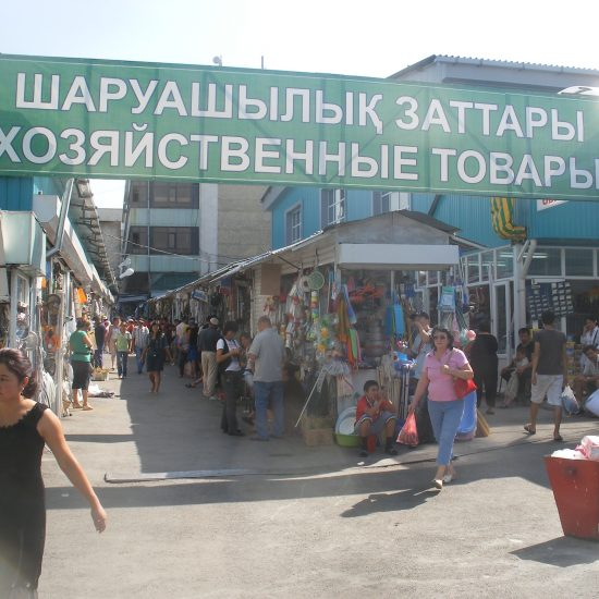 Zelyony Bazaar Almaty (Green Bazaar)