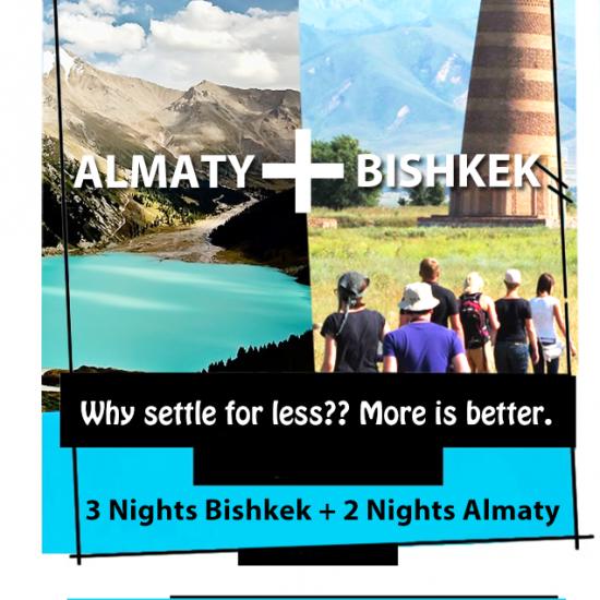Almaty + Bishkek Combo - Mailer