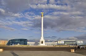 Independence Square and Kazak Eli Monument astana