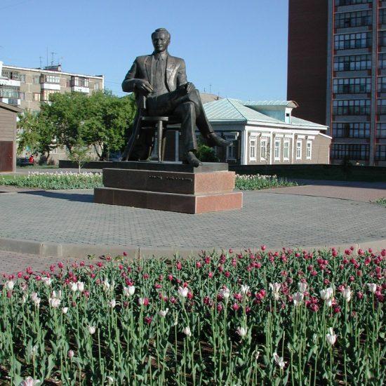 Monument to Saken Seyfullin