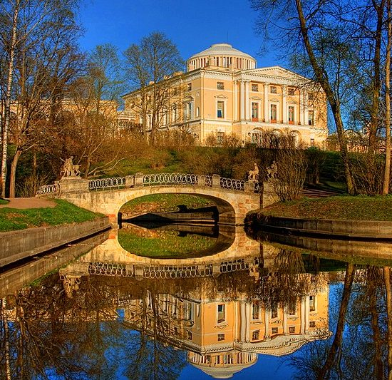 Pavlovsk Palace and Park - Nature View