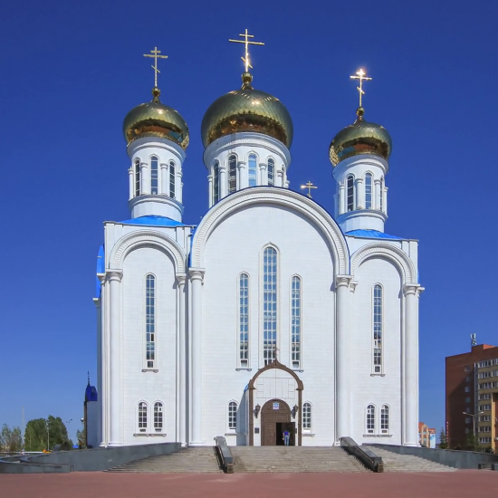 Assumption Russian Orthodox Cathedral Astana