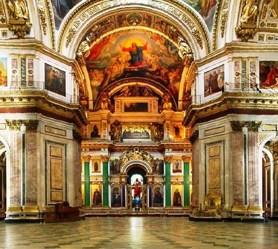 State Museum St. Isaac's Cathedral, St. Petersburg Inside View