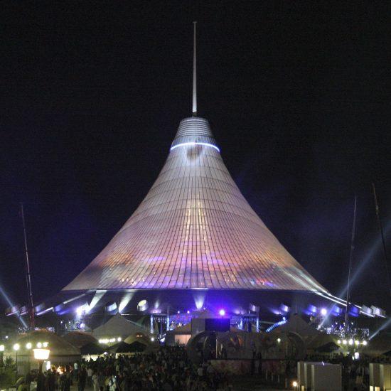 Khan Shatyr Astana - Night View