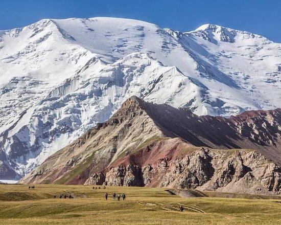 Lenin Peak Mountains
