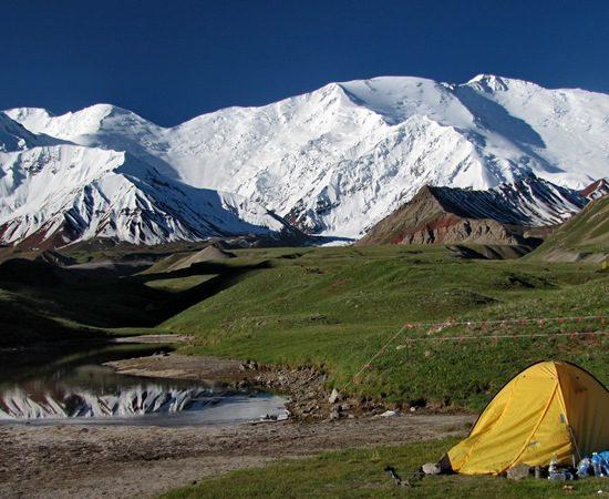 Lenin Peak Camp