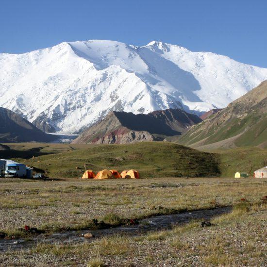 Lenin Peak Campside