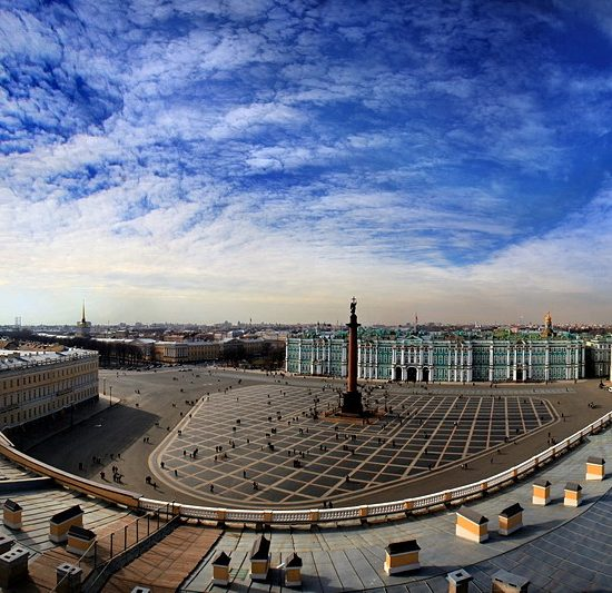 Palace Square full View