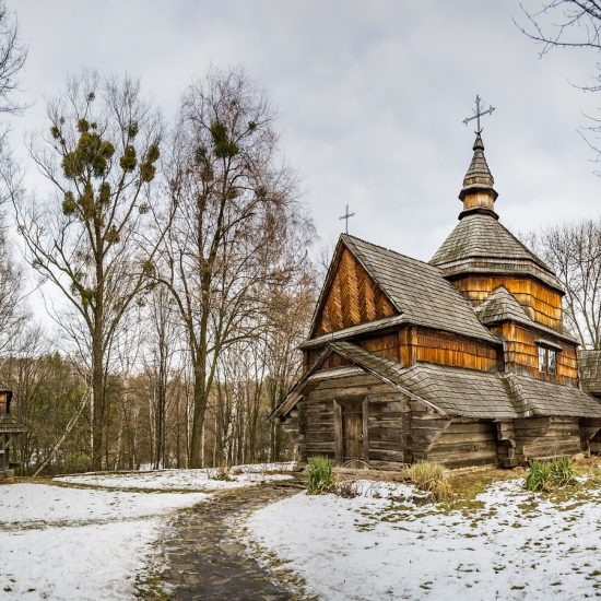 Pyrohiv Museum Kiev Winters