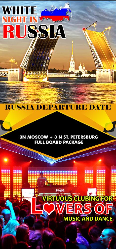 Russia Full Board - Mailer