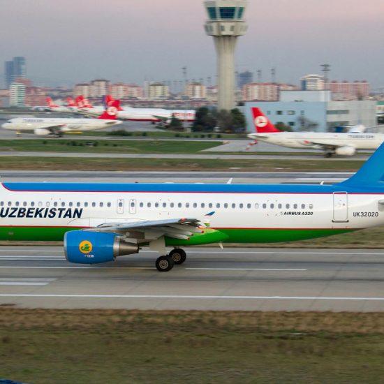 Samarkand Airport Uzbek Airways