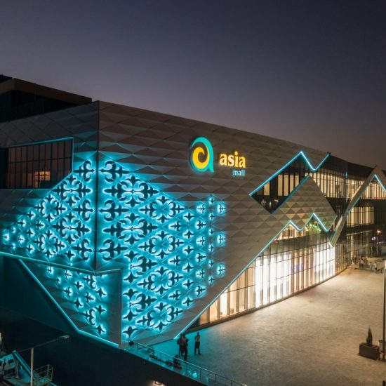 Asia Mall front Side