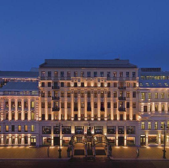 Corinthia Hotel St Petersburg front