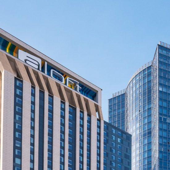 Front - Hotel Aloft Kiev